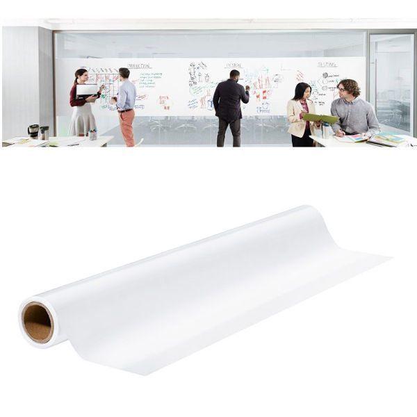 Printec® Yapışkanlı Beyaz Tahta Folyosu - Yazı Tahtası Folyosu