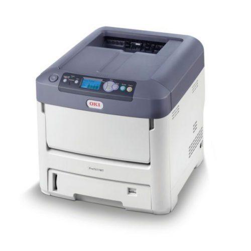OKI Pro7411WT Beyaz Tonerli Lazer Yazıcı 600x600