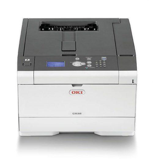 OKI c532dn Renkli Lazer Yazıcı 03
