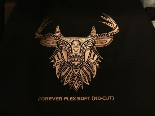 Forever Flex Soft No-Cut Metallic Bronze - Metalik Transfer Baskı
