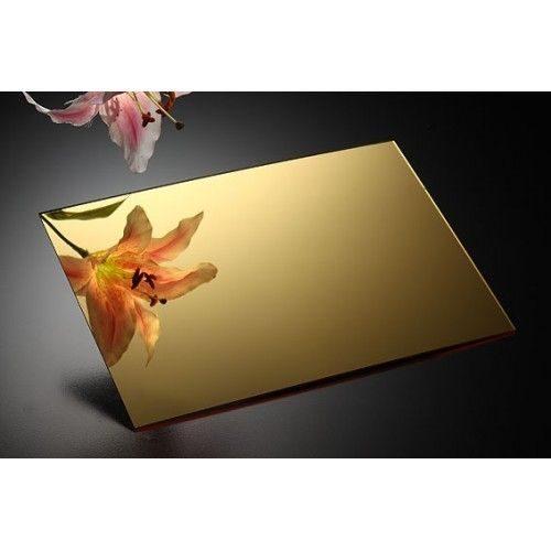 Altın Ayna Pleksi (Ayna Akrilik) 02 600x600