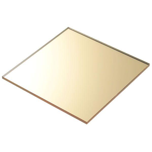 Altın Ayna Pleksi (Ayna Akrilik) 01 600x600