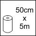 50cm x 5m