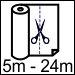 50cm x (5m – 24m arası) Parça Rulo