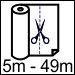 5m – 49m Arası Parça Rulo